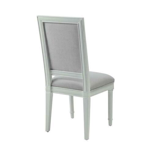 Hampshire White Upholstered Side Chair