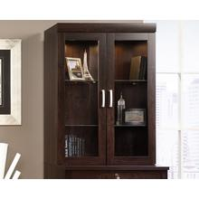See Details - Hutch With Glass Doors