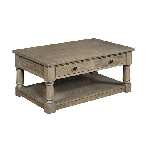 Outland Rectangular Storage Cocktail Table