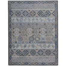 Izmir-Afghan Grey Hand Tufted Rugs