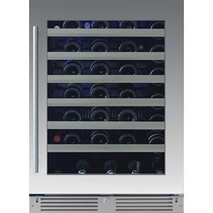 XO APPLIANCE24in Wine Cellar 1 Zone SS Glass RH