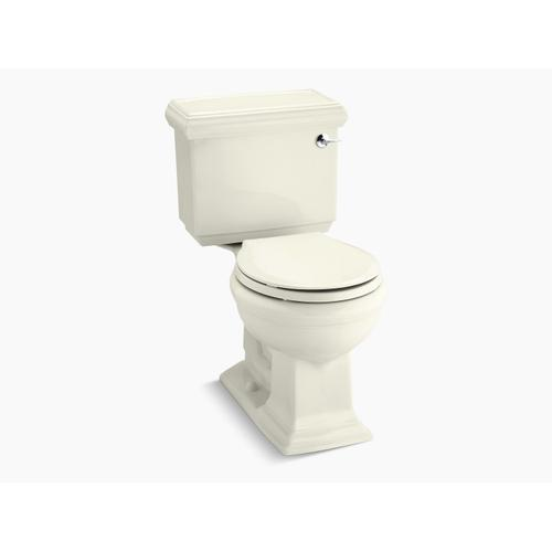 Biscuit Two-piece Round-front 1.28 Gpf Chair Height Toilet With Right-hand Trip Lever