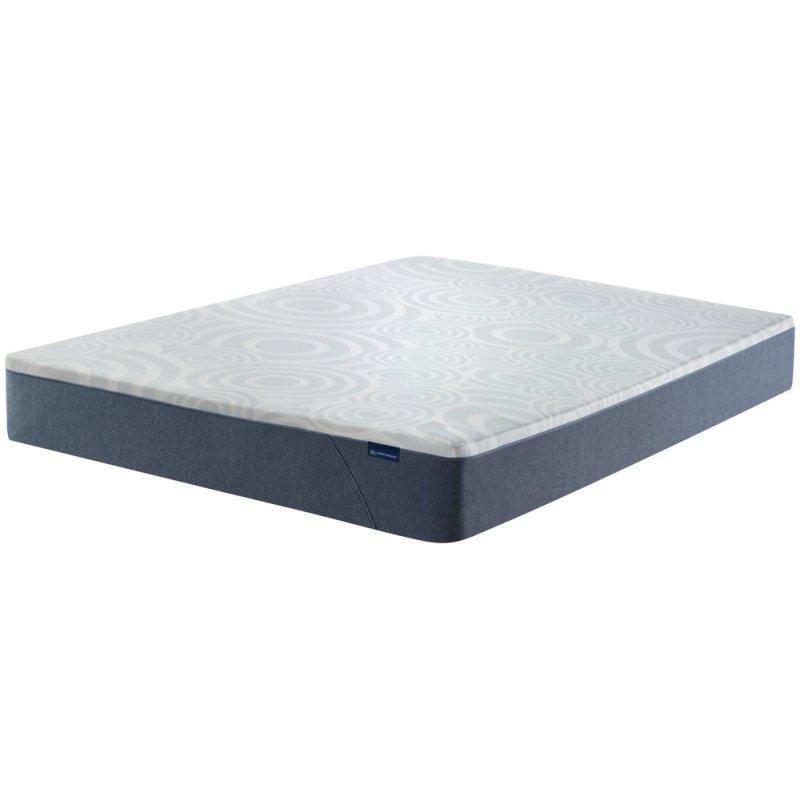 "Perfect Sleeper - Nestled Night 10"" Gel Memory Foam - Medium Firm - Cal King"