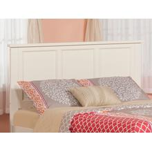 View Product - Madison Headboard Full White