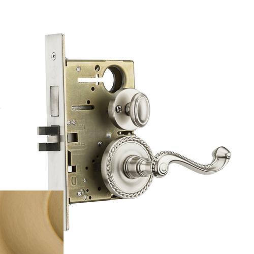 Baldwin - Vintage Brass Bristol Sectional Privacy Set