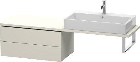 Low Cabinet For Console Compact, Taupe Matte (decor)