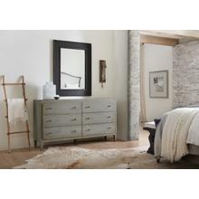 See Details - Ciao Bella Six-Drawer Dresser- Speckled Gray