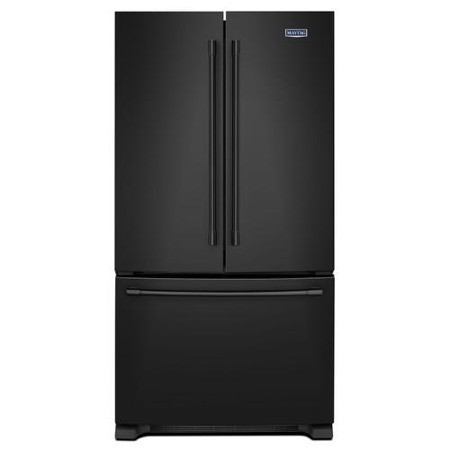 Maytag - 36-Inch Wide French Door Refrigerator - 25 Cu. Ft. Black