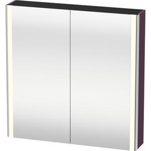 Mirror Cabinet, Aubergine Satin Matte (lacquer)