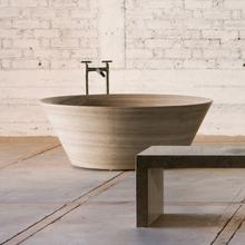 See Details - Siena Tazza Bathtub Siena Silver Gray Marble