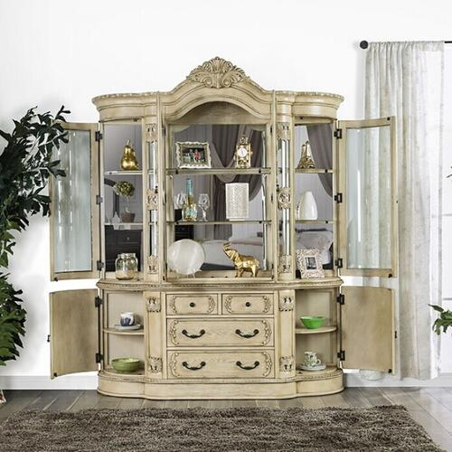 Furniture of America - Tuscany Hutch Buffet