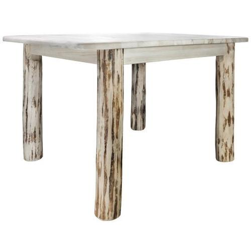 Montana Collection 4 Post Dining Table with Leaves