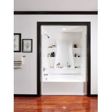 "High Gloss White 60"" x 32"" Bathtub Wall Set"