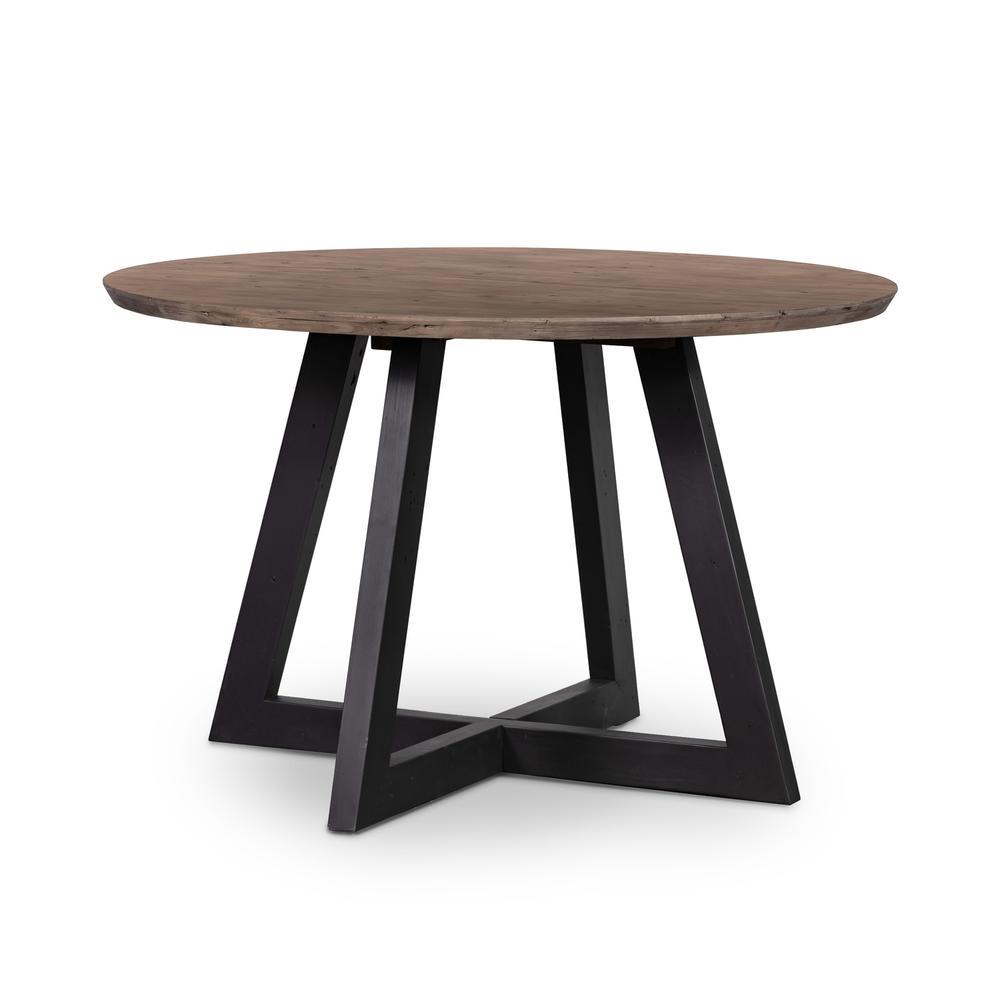 "Viva Round Dining Table 47""-sundried Ash"