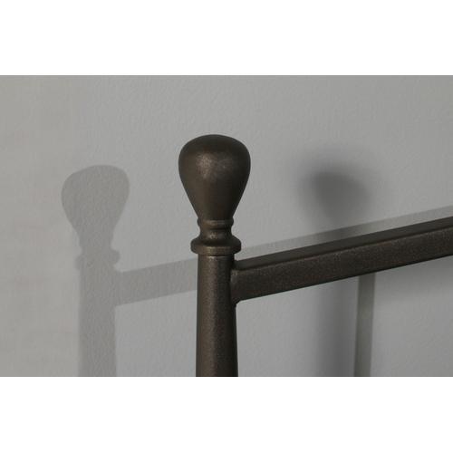 Warwick Twin Metal Headboard or Footboard (gray Bronze)