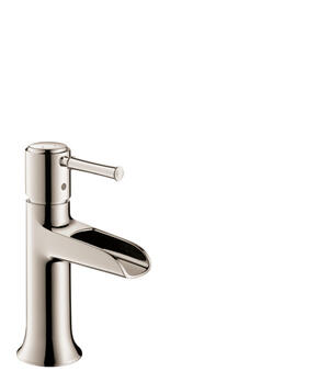 Polished Nickel Single-Hole Faucet 90 with Pop-Up Drain, 1.2 GPM Product Image