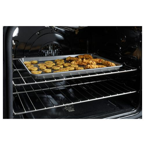 """Haier - 30"""" Smart Slide-In Electric Range with Convection"""
