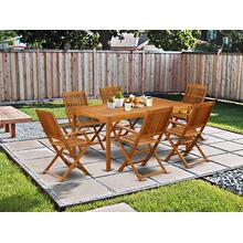 This 7 Pc Acacia Balcony Sets provides you one particular Outdoor-Furniture table and Six foldable Outdoor-Furniture chairs