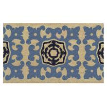 Doormat Sacha Navy 18x30