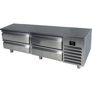 "U-Line72"" Refrigerator Base With Stainless Solid Finish (115v/60 Hz Volts /60 Hz Hz)"