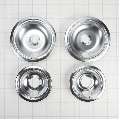 Whirlpool - Round Electric Range Burner Drip Bowls