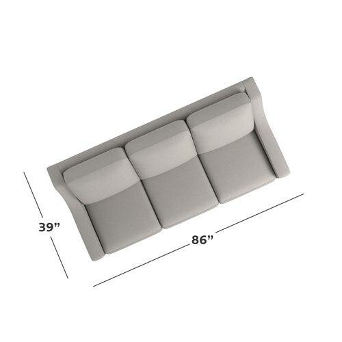 Motion Reclining Fabric Sofa