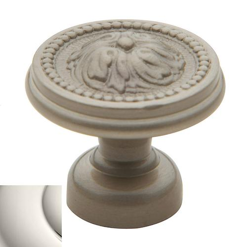 Polished Nickel Ornamental Knob