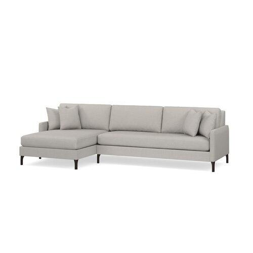 Serafina 2 Piece Left Chaise Sectional