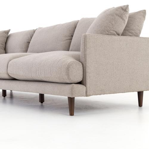 Fedora Pewter Cover Asta Sofa