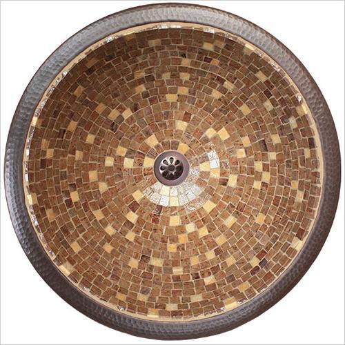 Small Round Mosaic