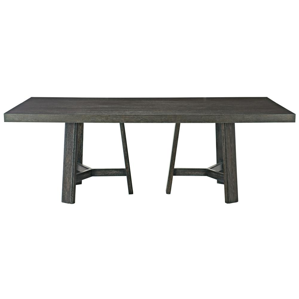 "Colworth Rectangular Dining Table (86"") in Black Truffle"