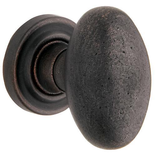 Baldwin - Distressed Oil-Rubbed Bronze 5025 Estate Knob