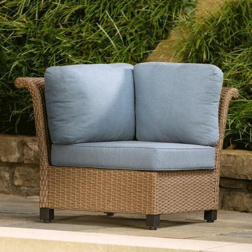 La-Z-Boy - Nolin Cushioned Corner, Blue