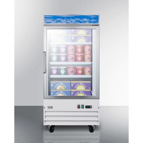 """Summit - 27"""" Wide Upright All-freezer"""