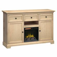 See Details - FT63B Extra Tall Fireplace Custom TV Console