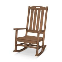 View Product - Nautical Porch Rocking Chair in Teak