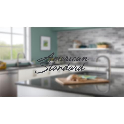 American Standard - Heritage 2-Handle High-Arc Wall-Mount Kitchen Faucet  American Standard - Polished Chrome