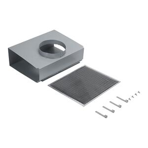 Range Wall Hood Recirculation Kit -