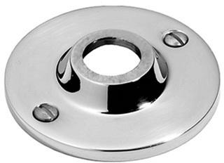 "Satin Nickel Visible fix rose, 2 1/2"" diameter"