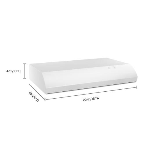 """Product Image - 30"""" Range Hood with the FIT System"""