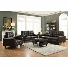 ACME Nate Sofa - 50260 - Espresso Leather-Gel