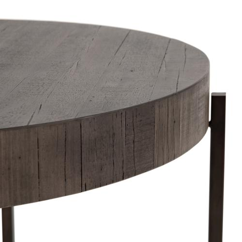 Counter Table Size Distressed Grey Finish Tinsley Bar + Counter Table