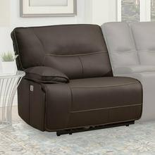 View Product - SPARTACUS - CHOCOLATE Power Left Arm Facing Recliner