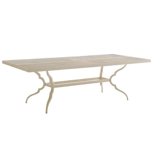 Dining Table W/Porcelain Top