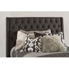 See Details - Churchill Queen Headboard - Onyx Fabric