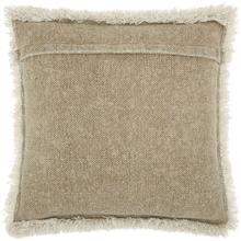 "Life Styles E0450 Beige 20"" X 20"" Throw Pillow"