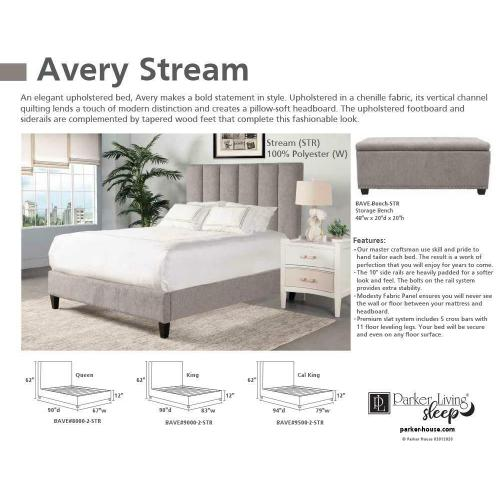 Parker House - AVERY - STREAM Queen Bed