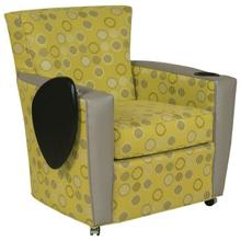 View Product - Payton Lounge Chair with Front Casters, Cupholder, Tablet