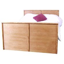 See Details - Forest Designs Bullnose Queen Panel Bed: 64W x 93D X 49H - Queen