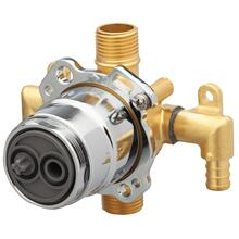 New - Treysta® Tub & Shower Valve- Vertical Inputs Without Stops- Crimp Pex